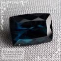 Сертифицированный синий турмалин (индиголит, индиколит) из Афганистана огранка октагон 11,5x8мм 4.58 карата