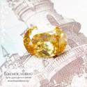 Золотисто-жёлтый циркон (жаргон) со Шри-Ланки бриллиантовый блеск хорошая огранка овал 11,01x8,2мм 3.93 карата