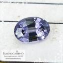 Фиолетовато-синяя шпинель со Шри-Ланки хорошей огранки овал 8,48x6,15мм 1.73 карат