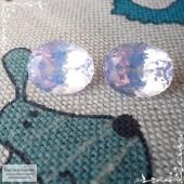 Пара лавандовых аметистов из Бразилии отличной огранки Баснословно овал 13,98x11,03 13,99x10,89 14,4 карат (Драгоценный камень)