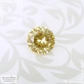 Золотистый циркон (жаргон) со Шри-Ланки хорошая огранка в Баснословно 7,7мм 2,71 карата (Драгоценный камень)