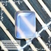 Лунный камень (адуляр) из Танзании с синей адуляресценцией огранка Баснословно кабошон 18,54x13,88 11.87 карат (Драгоценный камень)
