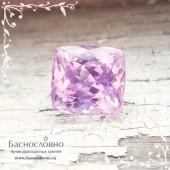 Нежно-розовый кунцит (сподумен) из Афганистана огранки антик 11x9мм 5.37 карат (Драгоценный камень)