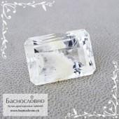 Кварц фантом с Мадагаскара огранка октагон 17,12x12,12мм 14.4 карат (Драгоценный камень)