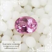 Розовая шпинель из Шри-Ланки огранка овал 7,66x6,05мм 1.47 карат (Драгоценный камень)