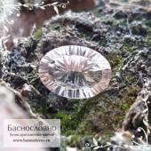 Розовый воробьевит (морганит, розовый берилл) из Мадагаскара огранка овал вогнутые грани Миллениум 14,21x10,17мм 5.11 карата (Драгоценный камень)