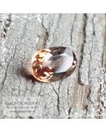 Полихромный андалузит из Шри-Ланки огранка овал 5x3,5мм 0,38 карата