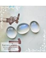Гарнитур три лунных камня (адуляр) из Танзании с синей адуляресценцией огранка Баснословно овал кабошон 11,3×8,76 10,3×8,06 10,36×8,12мм 9,12 карат