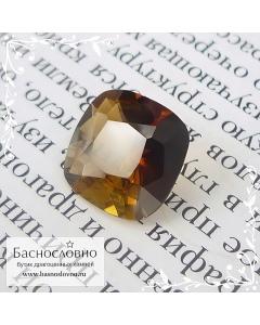 Полихромный Андалузит с Мадагаскара огранка антик 10мм 3.36 карат (Драгоценный камень)
