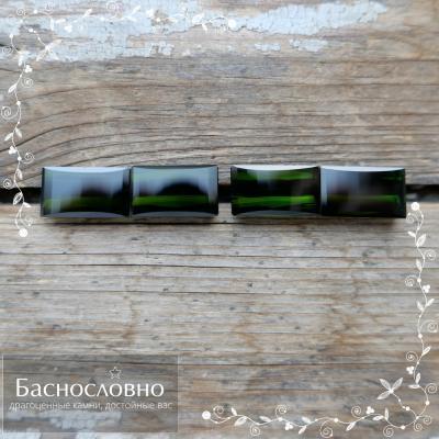 Драгоценные камни Баснословно №427: Очень выгодные, очень тёмно-зелёные крупные турмалины с тяжёлым прошлым