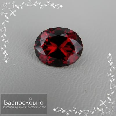 Драгоценные камни Баснословно №431: Кусочки пламени в форме красных гранатов нашей огранки и киберпанковый топаз