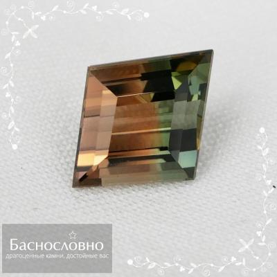 Драгоценные камни Баснословно №434: Сертифицированные в Гемцентре МГУ полихромный турмалин и хризоберилл
